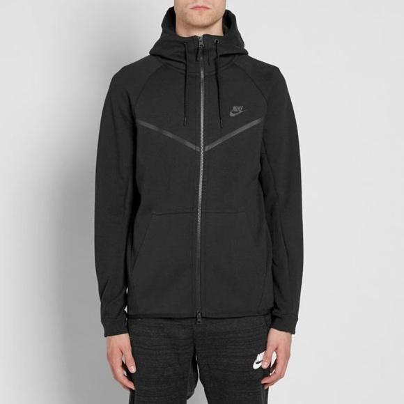 Nike Tech Fleece Jackets Black
